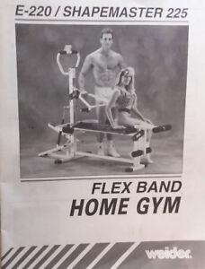 Appareil d'exercice Weider