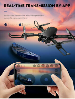 4K RC Drone HD WIFI Camera GPS FPV Foldable Appropriate Quadcopter Optical Flow 2.4Gh
