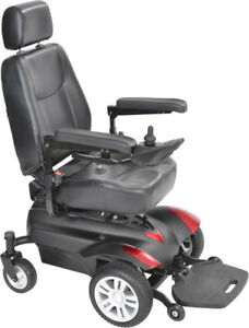 Slightly Used with Battery Drive Medical Titan Power Wheelchair.