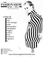 Models, Photographers, video, stylist, promoter