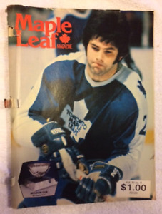 1978-79 Toronto Maple Leafs - Maple Leaf Gardens Magazine