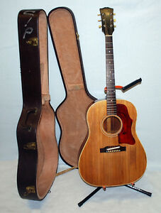 1969 Gibson J45 Acoustic Guitar with Hard Case