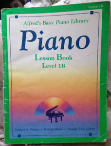 Alfred's Basic Piano Library - Piano - Lesson Book -  Level 1B