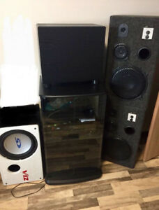 Stero and speakers $700 obo