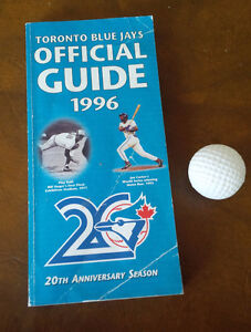 Toronto Blue Jays Official Guide 1996 Kitchener / Waterloo Kitchener Area image 1