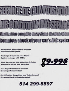 Service Air Climatise Automobile Pro Air conditioning Service