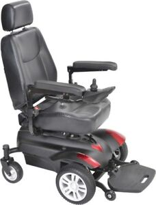 Drive Titan Mobility Power Wheelchair -SlightlyUsed with Battery
