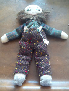 "Hand-Made Male Amish Doll 16"" Tall"