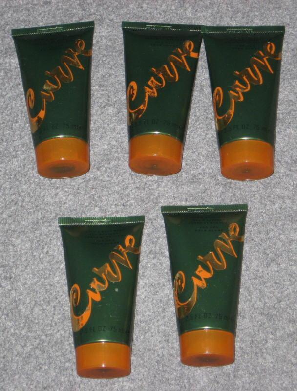 Curve Body Wash By Liz Claiborne 2.5 Oz Bottle Lot Of 5