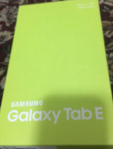 Samsung galaxy tab E for only 160