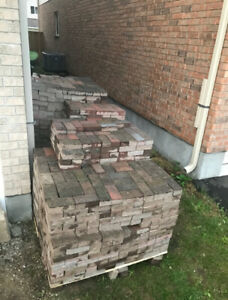 Interlocking brick- 550 sq ft