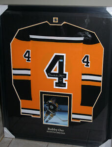 Bobby Orr Authentic Autographed Jersey - Professionally Framed