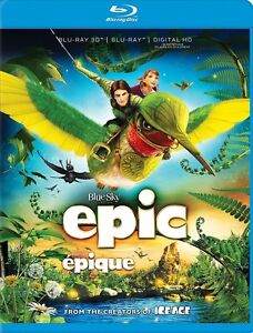 EPIC 3D Blu Ray Combo New & Sealed