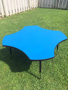Craft Table Blue
