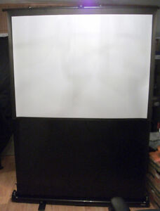 Ditigial Projector screen , self standing and collapsiblle