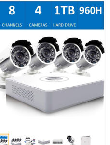 Swann 8 Channel 960H Security System 1TB HDD and 4 700TVL Camera