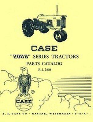 Case 200b 200 B Series Tractor Parts Catalog Manual