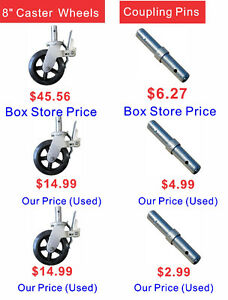 Scaffold Sales, save you money compared to Boxstore