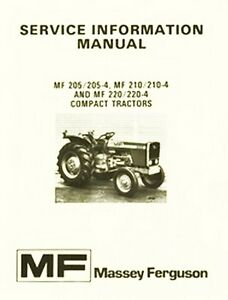 massey ferguson 240 service manual