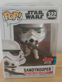 Star Wars Sandtrooper Vinyl Figure 322 funko pop