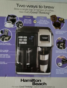 Cafetiere FlexBrew a double mode d'infusion