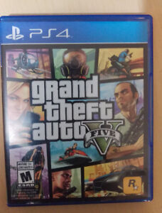 GTA5, The Witcher 3, PS4