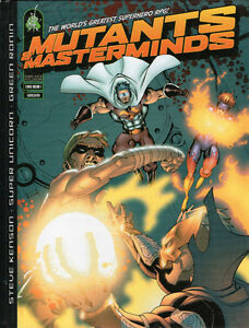 MUTANTS & MASTERMINDS Superheroes RPG Core Book   2002 Hcvr