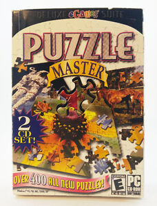 Jeux PC, CD-Rom, Puzzle Master, over 400 all new puzzles, 2 CD,