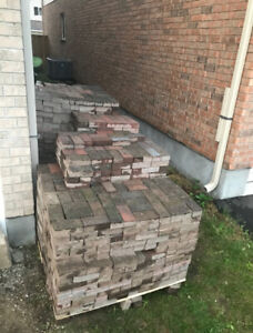 Interlocking brick- 550 sq ft.  SOLD PPU