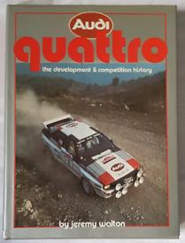Audi Quattro: The Development & Competition History. Rally car book.