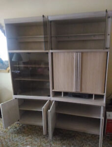 Tv Cabinets  with lots of Shelving and Storage