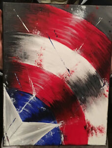 Brand new Marvel painting