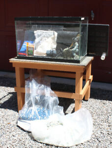 Aquarium tank and parts