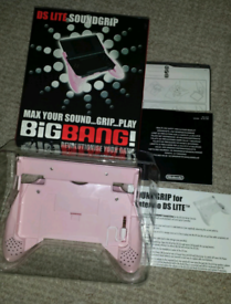 Nintendo DS/DSLight Soundgrip Pink - Brand New