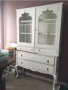 Antique white Shabby Chic cupboard