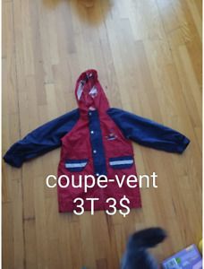 Coupe vent