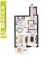 Ville MontRoyal, nouv. construction_31/2 garage INTERIEUR 1350$