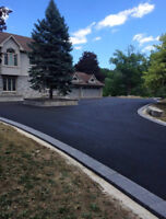 Installation of Brand New Asphalt Driveways