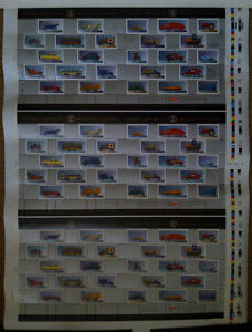Canada 1996 Mint Stamps Historic Land Vehicles Uncut Press Sheet Kingston Kingston Area image 2