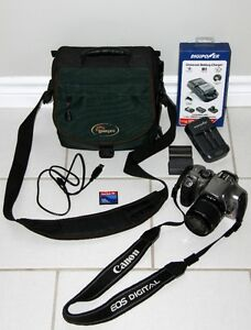Canon Digital Rebel Camera + Accessories
