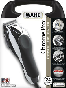 Wahl Chrome Pro Hair Clipper Kit