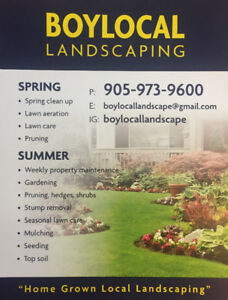 BoyLocal Landscaping
