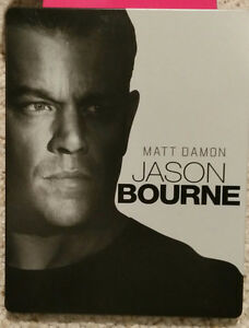 Jason Bourne 4k Ultra HD and Blu-ray.  Watched once