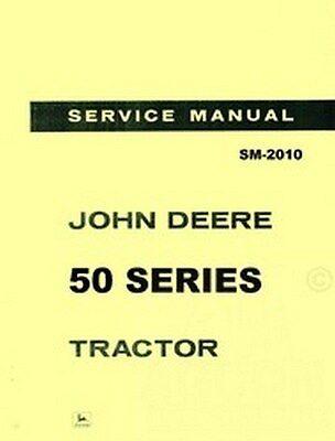 John Deere 50 Series 520 530 Tractor Service Manual