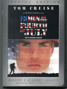 DVD Born on the Fourth of July ~ Tom Cruise
