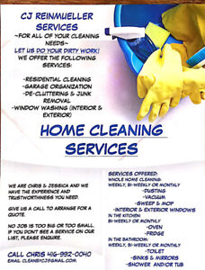 House Cleaning Services CJ REINMUELLER SERVICES