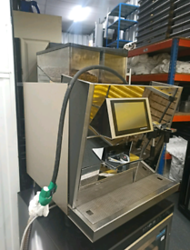 Commercial bean to coffee machine 2015 thermoplan bw3cts £2150