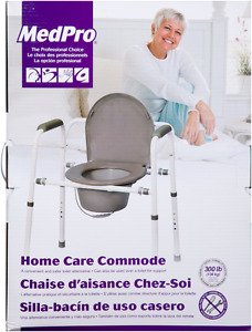 MedPro Homecare Commode - New in box***REDUCED PRICE***