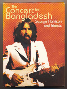 GEORGE HARRISON AND FRIENDS THE CONCERT FOR BANGLADESH(VIEWED