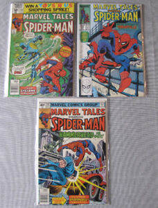 Lot 24 Comic Spider-Man Marvel Tales Team-Up BD Anglais English